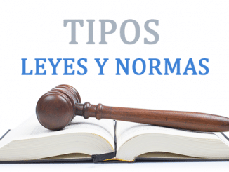 Tipos de leyes y normas