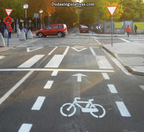 Vía ciclista (tipos de vías)