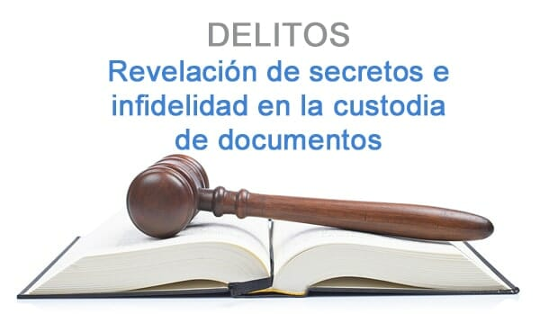 delito de revelacion de secretos