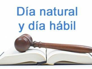 dia natural y dia habil