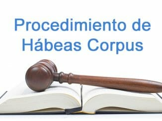procedimiento de habeas corpus